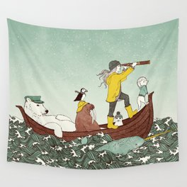 Arctic Adventure Wall Tapestry
