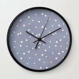 Desert Stars Pattern  Wall Clock