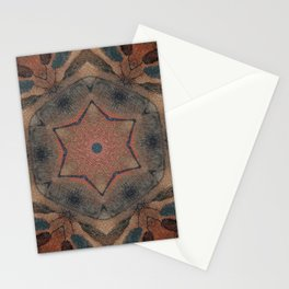 Bushfire Gum Medallion 9 Stationery Cards