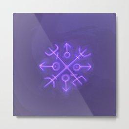 The Magical Rune Metal Print
