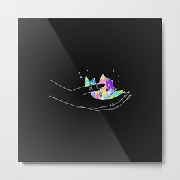 Artificial Love - Illustration Metal Print