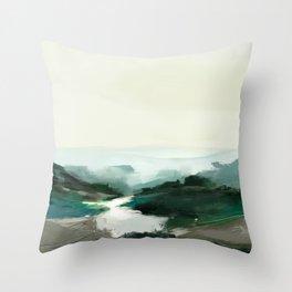 Highland View Throw Pillow