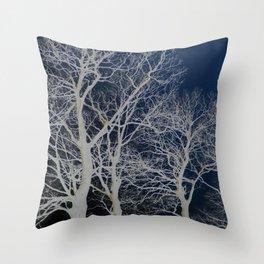 Drumcliff trees Throw Pillow