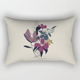 3 little birds Floral Arrangement 2020 Rectangular Pillow