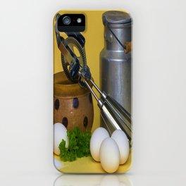 Milk Can Vignette iPhone Case