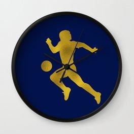 El Diego Gold Wall Clock