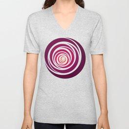 Spinnin Round Crimson Unisex V-Neck