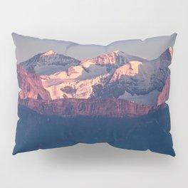 Three Peaks in Violet Sunset Pillow Sham