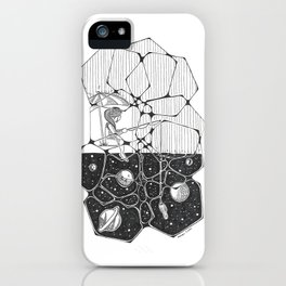 Fishing in the Stars iPhone Case