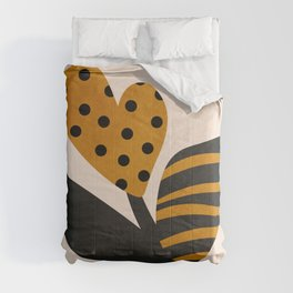 Modern plant 0124 Comforters