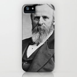 Vintage President Rutherford B. Hayes iPhone Case