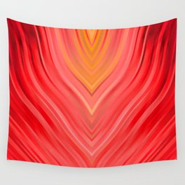 stripes wave pattern 3 dr Wall Tapestry