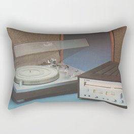 Vintage Speakers 1 Rectangular Pillow