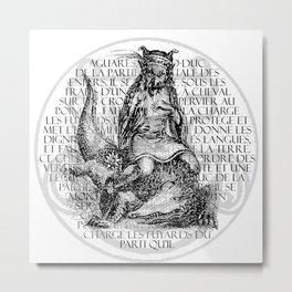 Hierarchia Inferni - Aguares Metal Print
