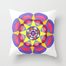 skyflower 7 Throw Pillow