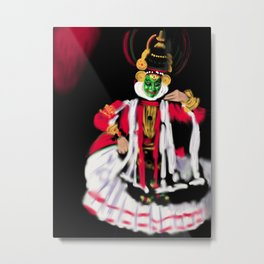 25- Kathakali…Kerala dance art form Metal Print