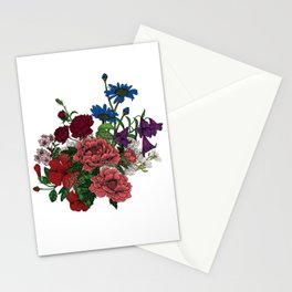 """Flower Arrangement Fall in Love Series """" Let it be"""" Stationery Cards"""