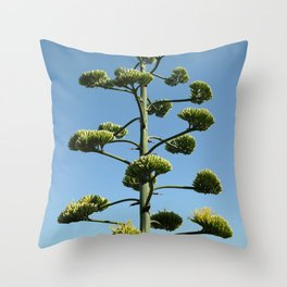 The Giant Succulent 2 Throw Pillow