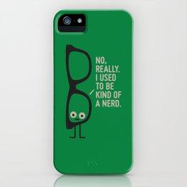 Nerd Is the New Black iPhone Case