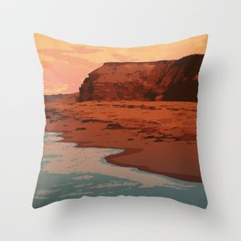 Prince Edward Island National Park Throw Pillow