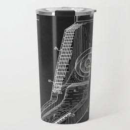 Vintage Skee Ball Patent 1935 Travel Mug