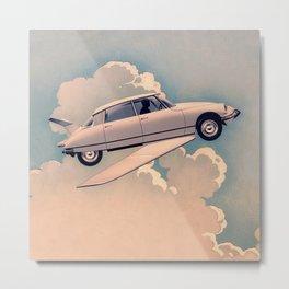 FLYING CAR OF FANTOMAS 1964 Metal Print