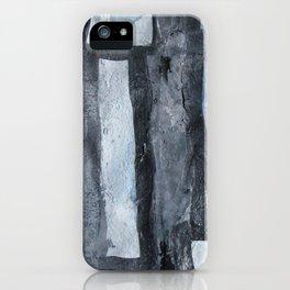 Grey matchsticks  iPhone Case