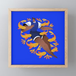 Fishes Framed Mini Art Print