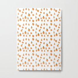 Orange Peaches Metal Print