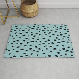 Seeing Spots in Robins Egg Rug