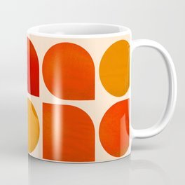 Fun Geometry - Mid-century abstract Coffee Mug