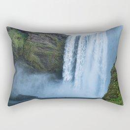 Skogafoss Rectangular Pillow