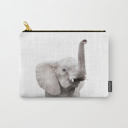 Baby Elephant Portrait Carry-All Pouch