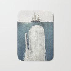The Whale - vintage  Bath Mat