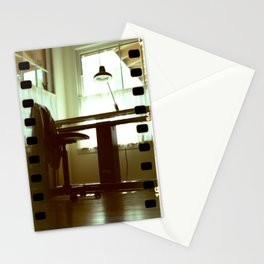 Light On Drafting Table Stationery Cards
