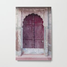 Doors Of Rajasthan 2 Metal Print