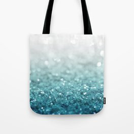 MERMAID GLITTER - MERMAIDIANS AQUA Tote Bag