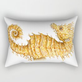 Sea horse, Horse of the seas, Seahorse beauty Rectangular Pillow