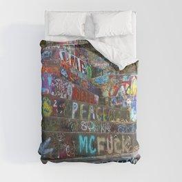 Graffiti in the wild Comforters