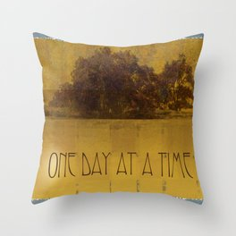 ODAT Oaks by the Lake Throw Pillow