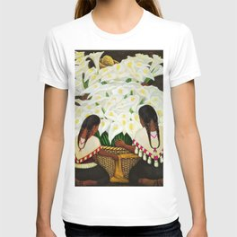 Vendedora de Alcatraces - Calla Lily Flower Sellers by Diego Rivera T-shirt