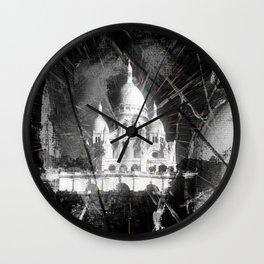 Paris - Basilique du Sacré Cœur Wall Clock