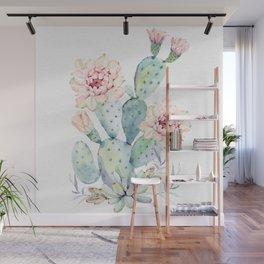 Prettiest Cactus Rose by Nature Magick Wall Mural