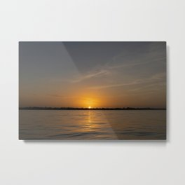 Warm Evenings Metal Print