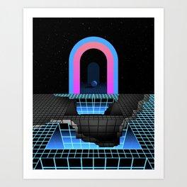DÉTRUIT 1984 Art Print