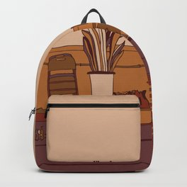 Roof Warm Colors Backpack