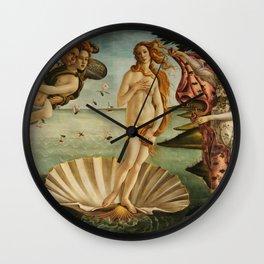 Birth Of Venus Sandro Botticelli Nascita di Venere Wall Clock