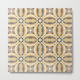 Pointillism mosaic 01 Metal Print