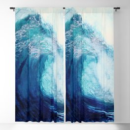 Waves II Blackout Curtain