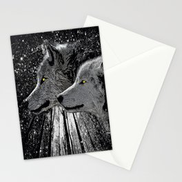 WOLF ENCOUNTER #2 Stationery Cards